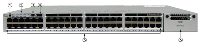 Sealed Cisco Enterprise Switches 48 Port Ethernet Lan Switch WS-C3850-48P-E