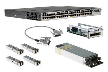 Good Quality Gigabit LAN Switch & Cisco Gigabit Ethernet 48 Port PoE IP Base Internet Switch WS-C3750X-48P-S on sale