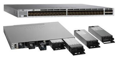 Good Quality Gigabit LAN Switch & Enterprise 48 Port 10 Gigabit SFP Switch Managed Multi Layer WS-C3850-48XS-E on sale