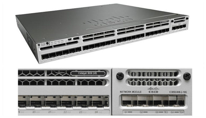 Cisco 3850 Series 10gbe Network Switch 24 Port Sfp Switch Ws C3850 24s S