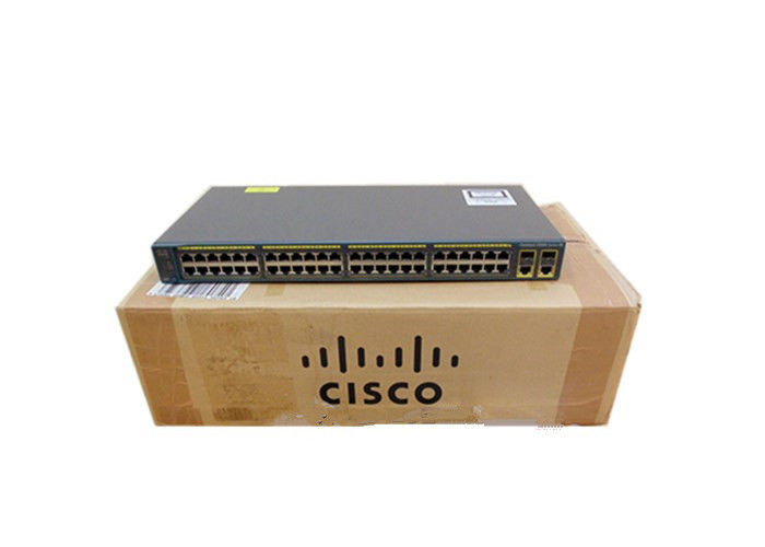 Cisco Managed Network switch WS-C2960-48TC-L 2960 Series 48 Port Eternet Switch