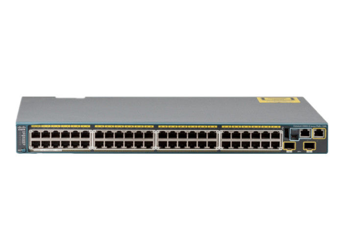 New Clean Serial Managed Network Switch WS-C2960S-48LPD-L 370W PoE Capacity