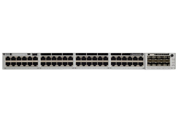 Layer Three Managed Network Switch Cisco Catalyst 9300 C9300-48P-A 48*10/100/1000Mbps