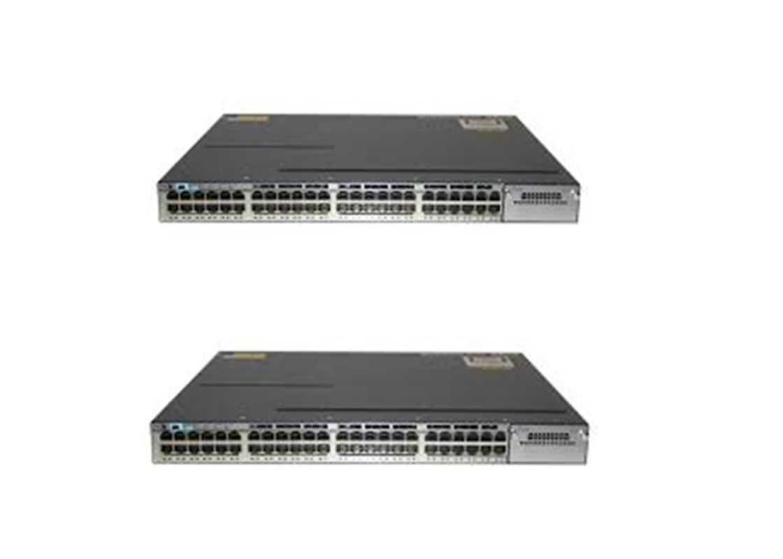 Cisco Catalyst 3750X 48 Port Poe Gigabit Managed Switch WS-C3750X-48P-S