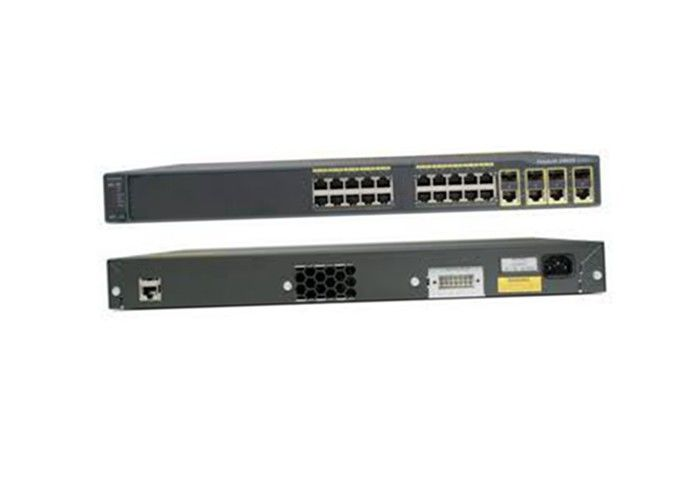WS-C2960G-24TC-L Managed Network Switch 24 Port Cisco 2960 Series VLAN Support