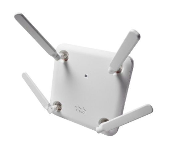 256 MB Cisco Access Point AIR-AP1852E-B-K9 802.11AC Wave 2 4x4 External Antenna