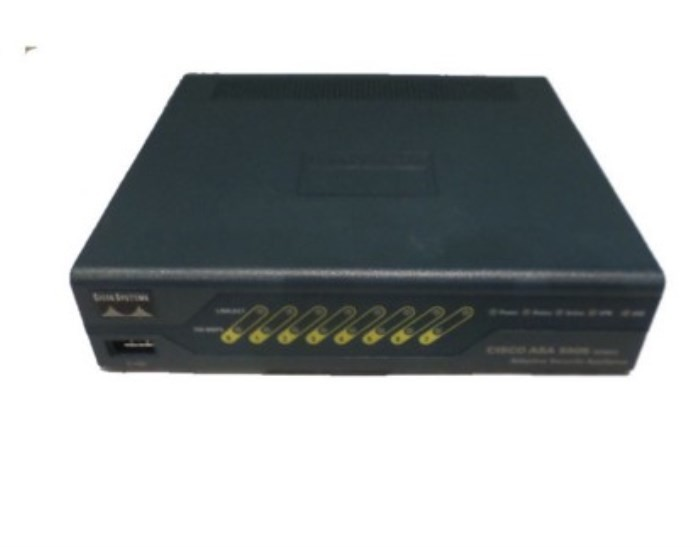8 Ports Cisco Asa 5505 Firewall With Sw 50 Users Des
