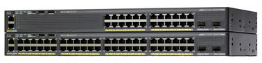 Cisco Catalyst 2960-X 48 Port Gigabit Ethernet, 4 x 1G SFP, LAN Base Switch WS-C2960X-48TS-L