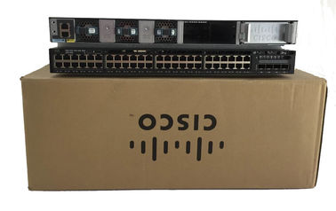 IP Base Cisco 3650 48 Port 2X10G Uplink Gigabit Ethernet Switch WS-C3650-48TD-S